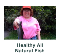 Healthy all natural fish